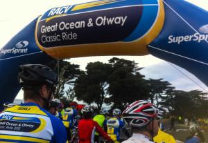 Great Ocean Otway Classic start line